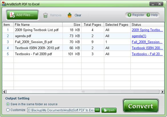 convertitore pdf in excel