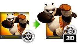 2D to 3D video converter